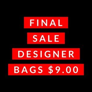 9.00 bag sale as marked!  See profile!